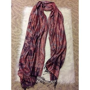 Tolani Silk Blanket Scarf